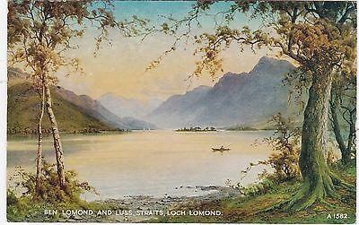 Artist Drawn, Ben & Loch Lomond From Straits, LUSS, Dunbartonshire - Thompson