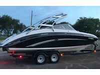 2010 Yamaha 242 Limited S only 63 hours, freshwater, stored inside, GPS cruise