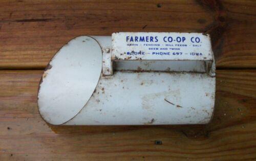 vintage Feed Scoop BOONE IOWA Farmer
