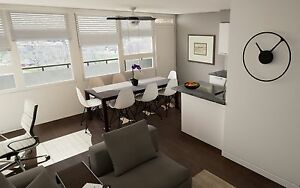 Bright & Spacious Renovated 3 Bedroom Suites from $1,525
