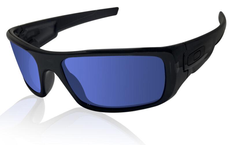 Oakley Crankshaft sunglasses black Ink frame Ice Iridium lens Authentic OO923926
