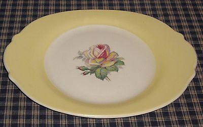 Vintage American Limoges Tea Rose Cotillion Yellow 12