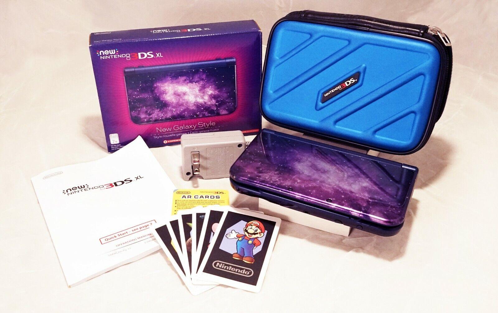 Galaxy Color Nintendo New 3DS XL System BUNDLE - $242.00