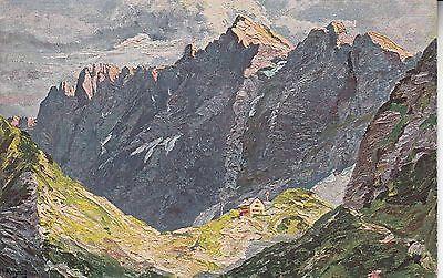 Postkarte - Lamsenjochhütte / Tirol (Nach Gemälde v. H.Kreyssig)