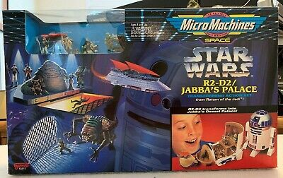 Star Wars: R2-D2/Jabba's Palace (Micro Machines by Galoob) 1994 New Open Box