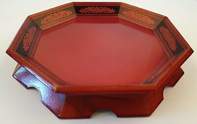 Korean traditional small refreshment table that varnished with lacquer