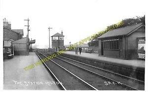 Hylton Railway Station Photo. Cox Green - Pallion. Sunderland Line