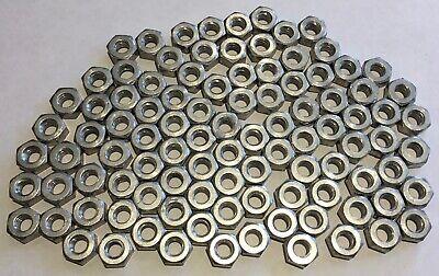 14-20 Aluminum Hex Nuts - Lot Of 100 Pieces