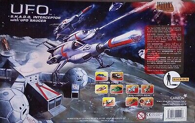 Product Enterprises UFO SHADO Interceptor With Saucer NRFB Gerry Anderson for sale  Shipping to Ireland