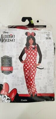 Minnie Mouse Halloween Costume For Adults (Zipster Minnie Mouse One Piece Halloween Costume for Women Adult)