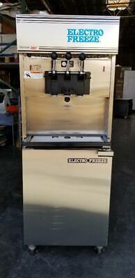 Electro Freeze 99t-rmt-232 Pump Pressurized Soft Serve Ice Cream Machine.