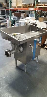 Biro 548 Heavy Horse Power Meat Grinder 208220v 3 Phase 5 Hp Motor Excellent