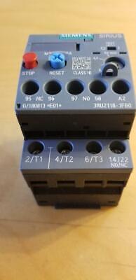 Siemens 3ru21161fb0 Sirius Thermal Overload Relay New