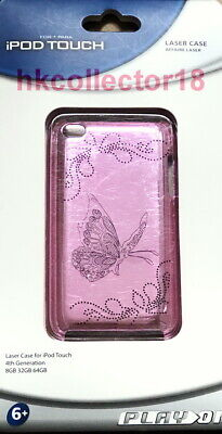 iPod Touch Butterfly Laser Case for 4th Generation 8GB/32GB/64GB Pink NEW Ipod Touch 4. Generation Pink