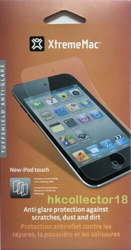 (3 PK) XtremeMac Tuffshield Anti-Glare iPod Touch Screen Shield & Cleaning Cloth