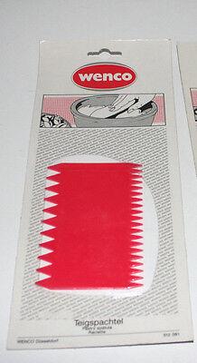 Teigschaber Teigspachtel Teigkratzer Tortenkamm Wenco 2 Stück