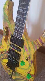 Ibanez Custom Built Steve Vai 'Swirl' JEM