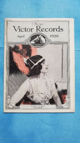 Original Victor Phonograph Record Catalog - April, 1920