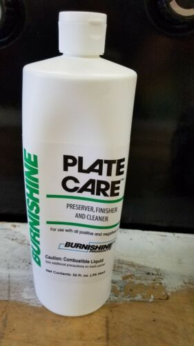 Burnishine 3600 Plate Care (Quart)
