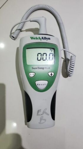 Welch Allyn SureTemp Plus Thermometer Biomed Tested/Calibrated
