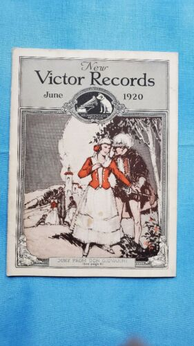 Original Victor Phonograph Record Catalog - June, 1920