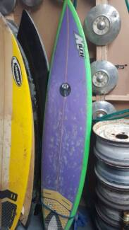 "Milch short board 6""8"