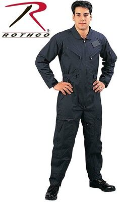 Military Style Navy Blue Flight Suit Air Force Flight Coveralls Rothco 7503