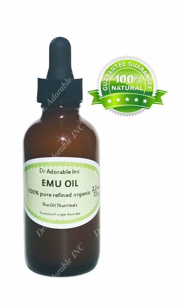 EMU OIL CREAMY BY DR.ADORABLE 100% PURE ORGANIC   2.2 oz