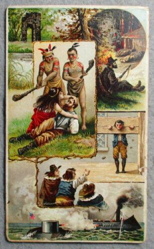 Late 19thCenturyArbuckle Brothers Coffee Virginia History Postcard/Trade Card