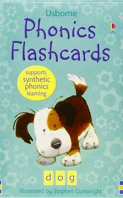 Usborne Phonics Flashcards,New Condition