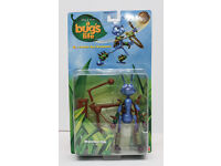 A large collection of BNIB Disney's Pixar A bugs life merchandise.