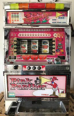 QUARTER / TOKEN PACHISLO PINK PANTHER SLOT MACHINE / 510 PG MANUAL