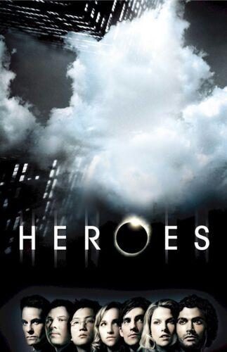 HEROES POSTER ~ CLOUD CAST 22x34 TV Masi Oka Ali Larter Hayden Panettiere