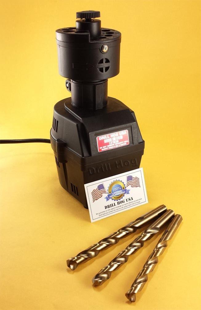 Drill Hog® Electric Drill Bit Sharpener Semi-Automatic 9/64