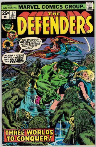 Defenders 27 (1975) F/VF