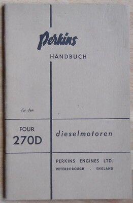 Perkins Handbuch für 270 D