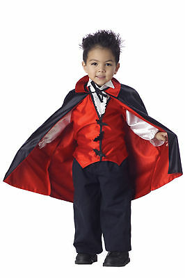 Dracula Vampire Boy Toddler Kids Halloween Costume - Halloween Costumes Toddlers Boy