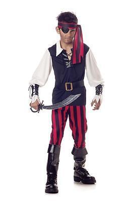 Cutthroat Pirate Buccaneer Black Beard Child Halloween Costume