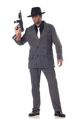 Mafia Gangster Mobster Adult Men Halloween - Mafia Costumes