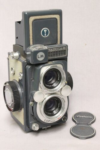 Tested Clean Old Yashica 44 LM 127 Film TLR Camera