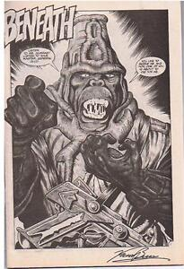 Planet Of The Apes Book #1 autog by Penciller Kent Burles. London Ontario image 2