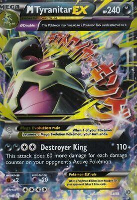 Pokemon MTyranitar EX 43/98 Rare 1x