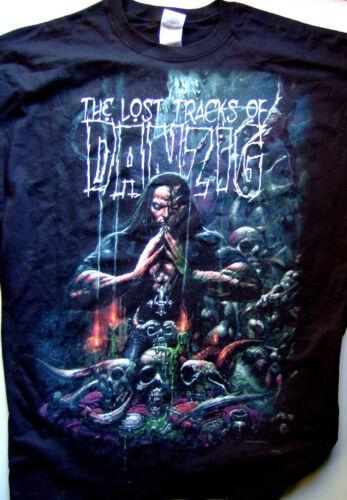 ORIGINAL DANZIG LOST TRACKS XL TEE BLACKEST of the BLACK TOUR 2008