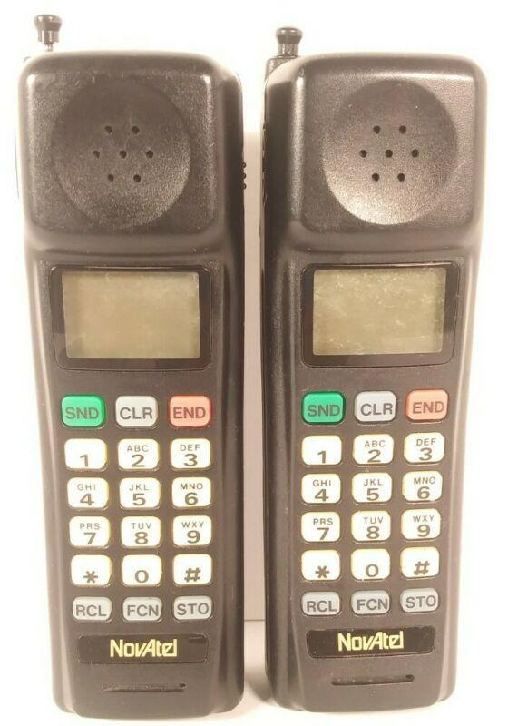 Vintage Novatel PTR825 Brick Cell Phone