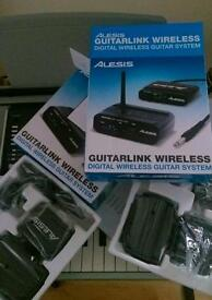 Alesis guitar link wireless system
