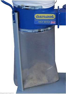 Plastic collection bags, pack of 50 woodwork collection bags, metal work dust,