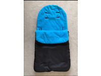 Pushchair cosytoes/footmuff