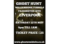 GHOST HUNT AT WILLIAMSONS TUNNELS LIVERPOOL