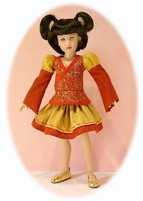 "MSD pattern 4 14"" Kish, Kaye Wiggs' & slim MSDs  Asian style skirt, shirt, pants"