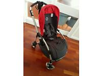 Bugaboo bee3 with red hood